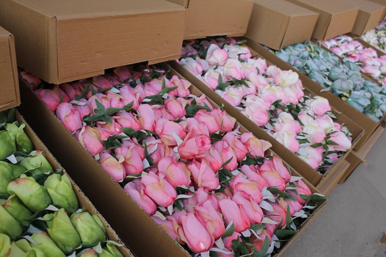 Acheter 2 5cm Petites Tetes Roses Fleurs Artificielles Bricolage
