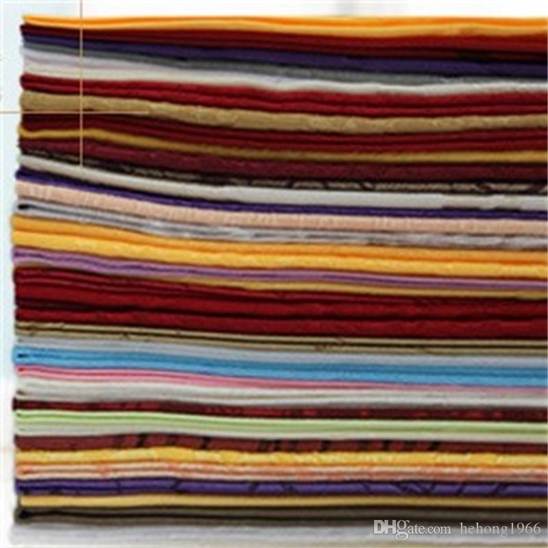Tovagliolo Tinta unita Multiplo Colori Hotel Wedding Fold Flower Cafe Fazzoletto Quadrato in fibra di poliestere Simple Modern 2za V