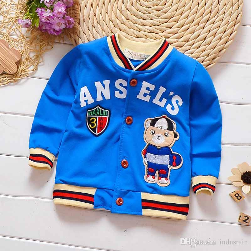 95ec8be2b487 Newborn Baby Coats Clothing Toddler Spring Autumn Cotton Fashion Jackets  Infant Baby Cartoon Outerwear Baby Outfits Online with  21.72 Piece on  Indusrain s ...