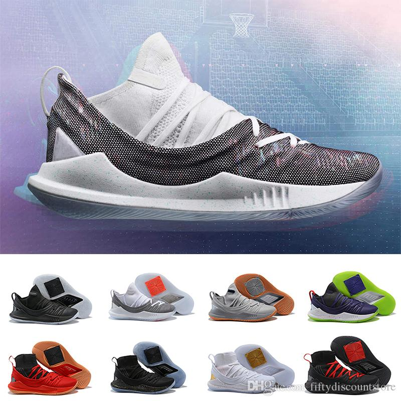 18a5d18ed With Box 2018 New Curry 5 Low High Cut Running Basketball Shoes CHAMPIONSHIP  PACK PI DAY Men S Basketball Shoes Size 7 12 Athletic Shoes Shoes Online  From ...
