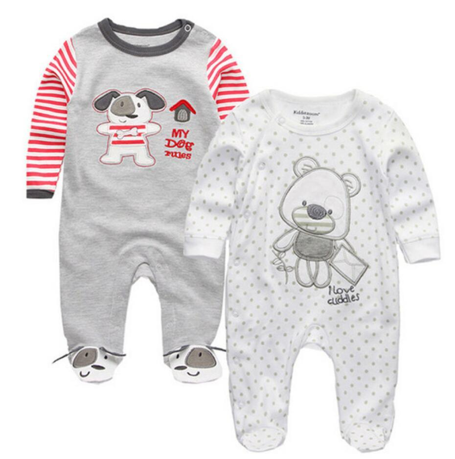 01e6c739fd5b Baby Clothes Full Sleeve Cotton Infantis Baby Clothing Romper ...