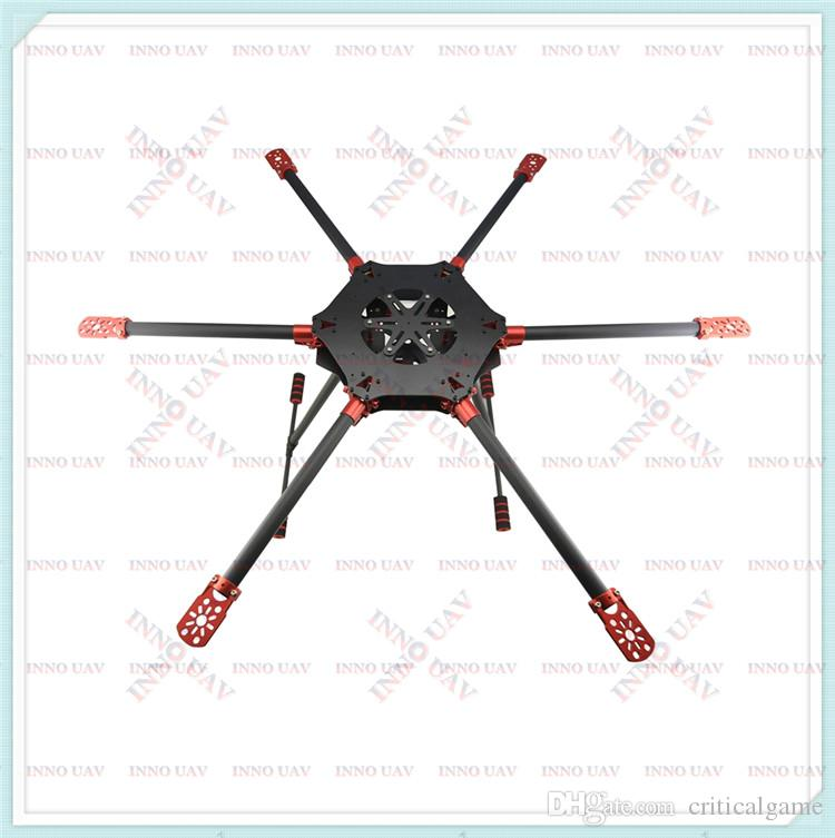 INNO UAV Custom-made Agricultural Drone 6-rotor 800mm Folding Carbon ...