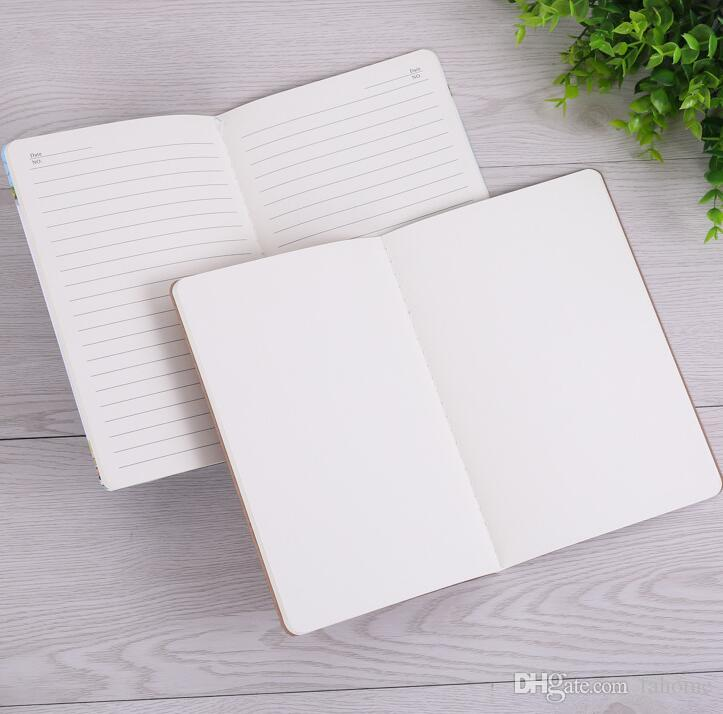 30 Sheets A5 Size Notepads Notebooks with Kraft Paper Covers 21cm x 14cm For Travelers Office School Stationery Supplies