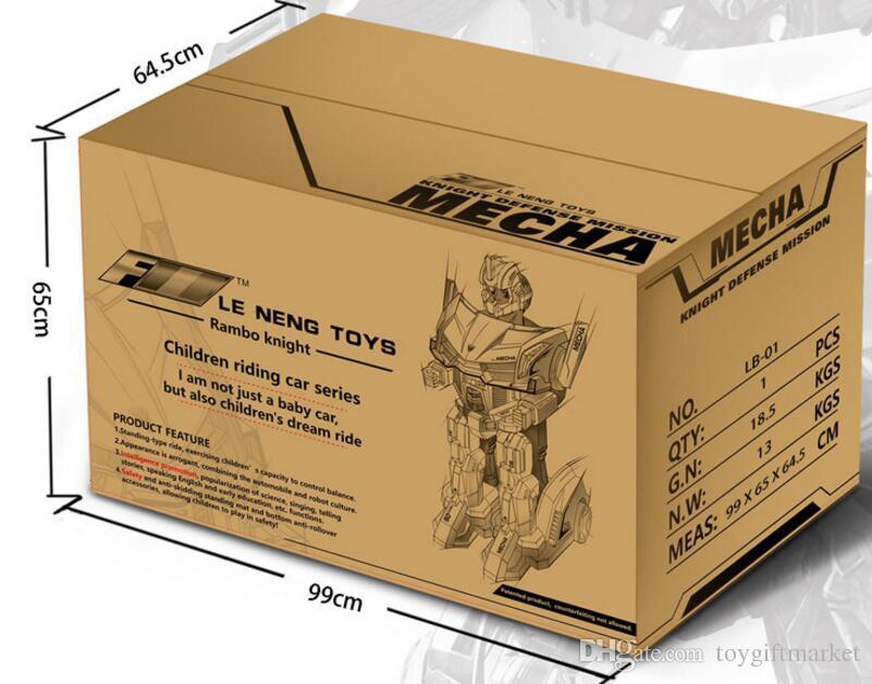 12V дети игрушка автомобиль ездить рыцарь автомобиль робот дети пульт дистанционного управления автомобиль детская коляска Оптовая Бесплатная доставка