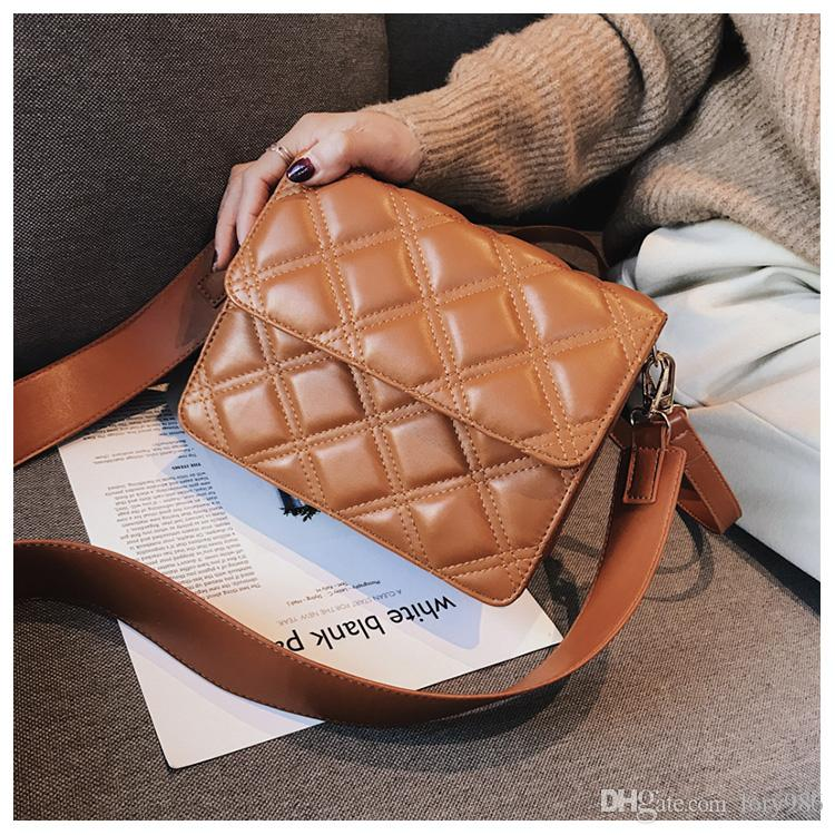 1871dda051ab 2018 China Brand Casual Plaid Bags Women Messenger Bags PU Leather Handbags  Phone Purse Designer Ladies Cross Body Bag Nidaier  10 Fashion Handbags  Large ...