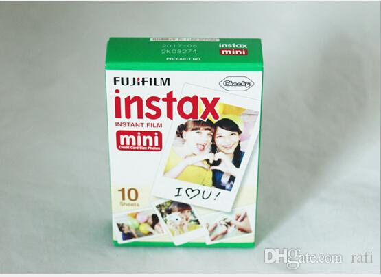 2018 Newest Instax White Film Intax For Mini 90 8 25 7S 50s Polaroid Instant Camera good item by dhl
