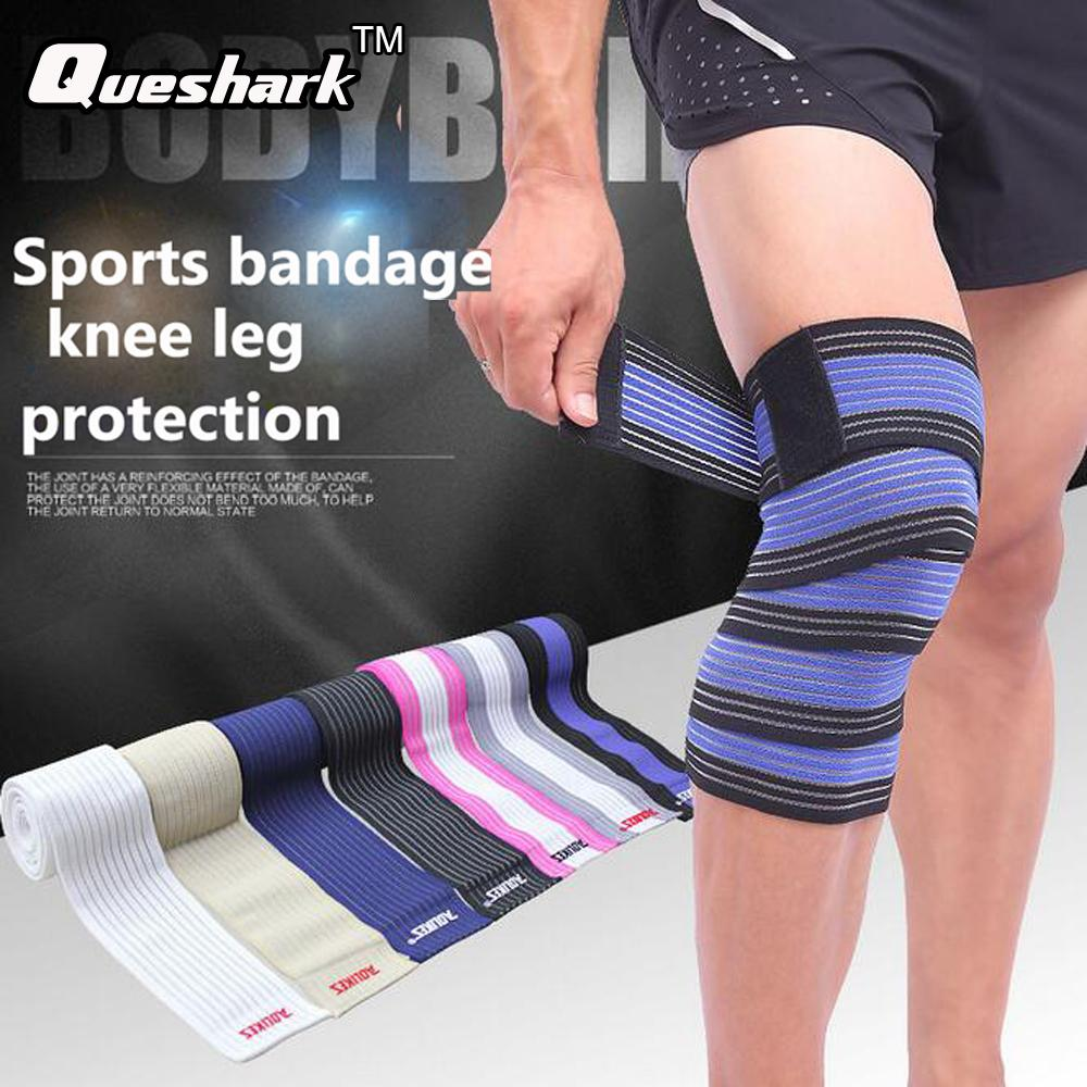 Yoga Elastic Bandage Knee Leg Straps Training Support Wraps Sport Belt Band Weightlifting High Quality Materials