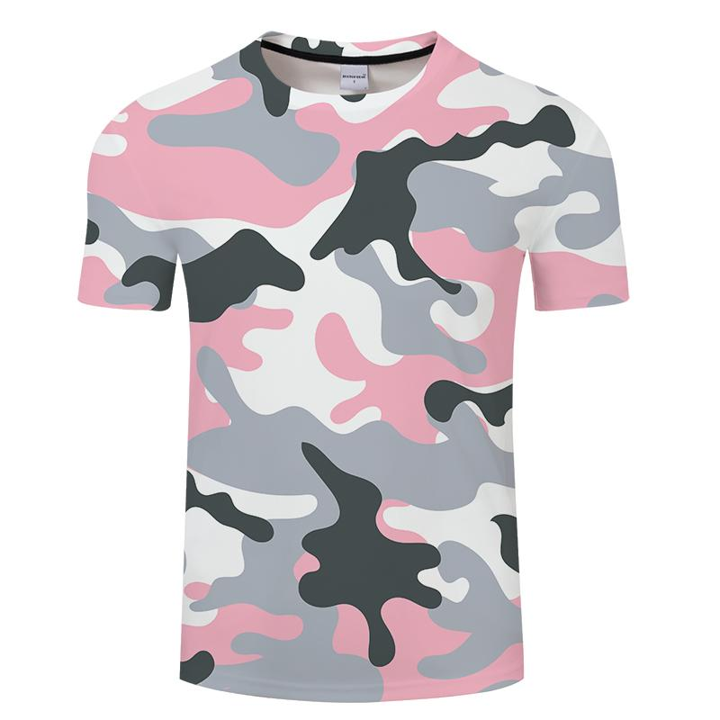 7be29679be2 Camo 3D T Shirt Men Tshirts Summer T Shirt Classic Short Sleeve Tees  Streetwear Tops Harajuku Pink Plus Size DropShip Mr.1991INC Great Tee Shirt  Designs ...