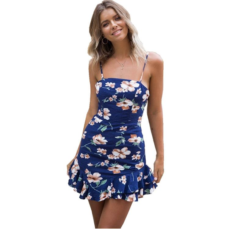 defe42cd2c Cheap High Neck Floral Long Maxi Gown Best See through Casual Dresses