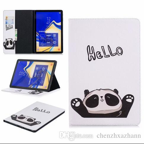 Protector Cover Case For Amazon Kindle Fire HD 10 2018 Shell With Golden  Butterfly Cat Panda Color Tree Painting KindleFire PEN