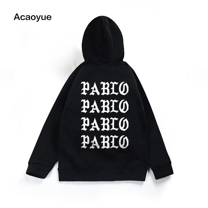 fbbbf741d0a7 2019 Fear Of God  S Life Kanye West Pablo Hoodie Men Hip Hop Tracksuit  Sweatshirts Pull Paris I Feel Like Pablo Sportswear From Redbud03