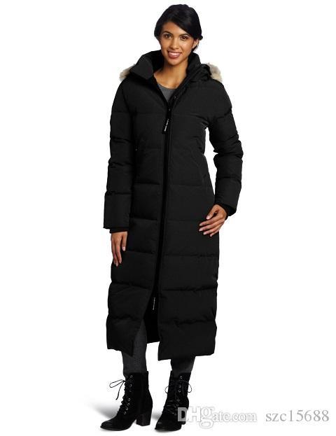 e16fdf75569 Luxury brand WOMEN Fusion Fit version Shelburne Parker coat Down Warm  Outdoor Down Jacket Woman Winter Cold Outdoor designer Rideau Parker