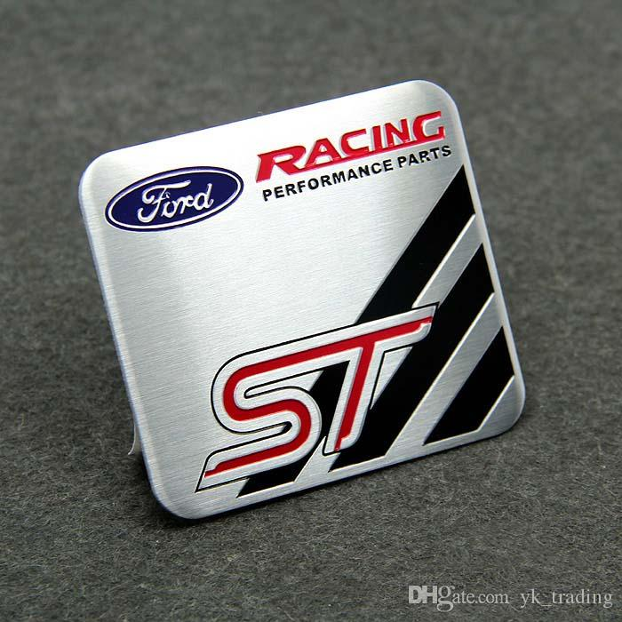 Para Ford Fouce Mendeo Mustang 3D Coche Motorsport ST RS Racing Performance Partes Desarrollado por Metal Car Emblem Badge Sticker con Logo