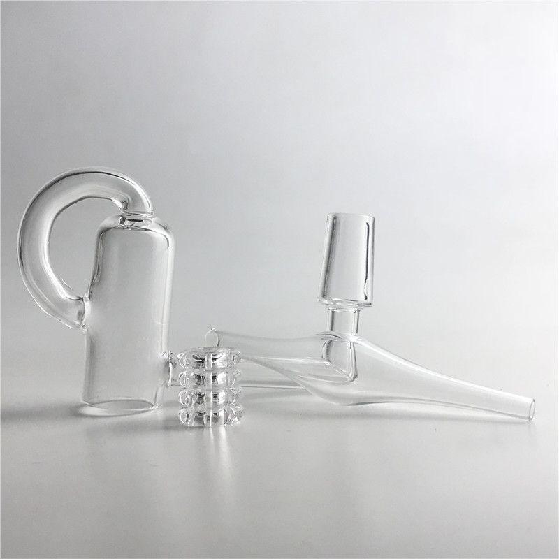 Quartz Diamond Loop Banger Nail Oil Knot Recycler Quartz Banger Nail Carb Cap Dabber Insert Bowl 10mm 14mm Male Female for Water Pipes