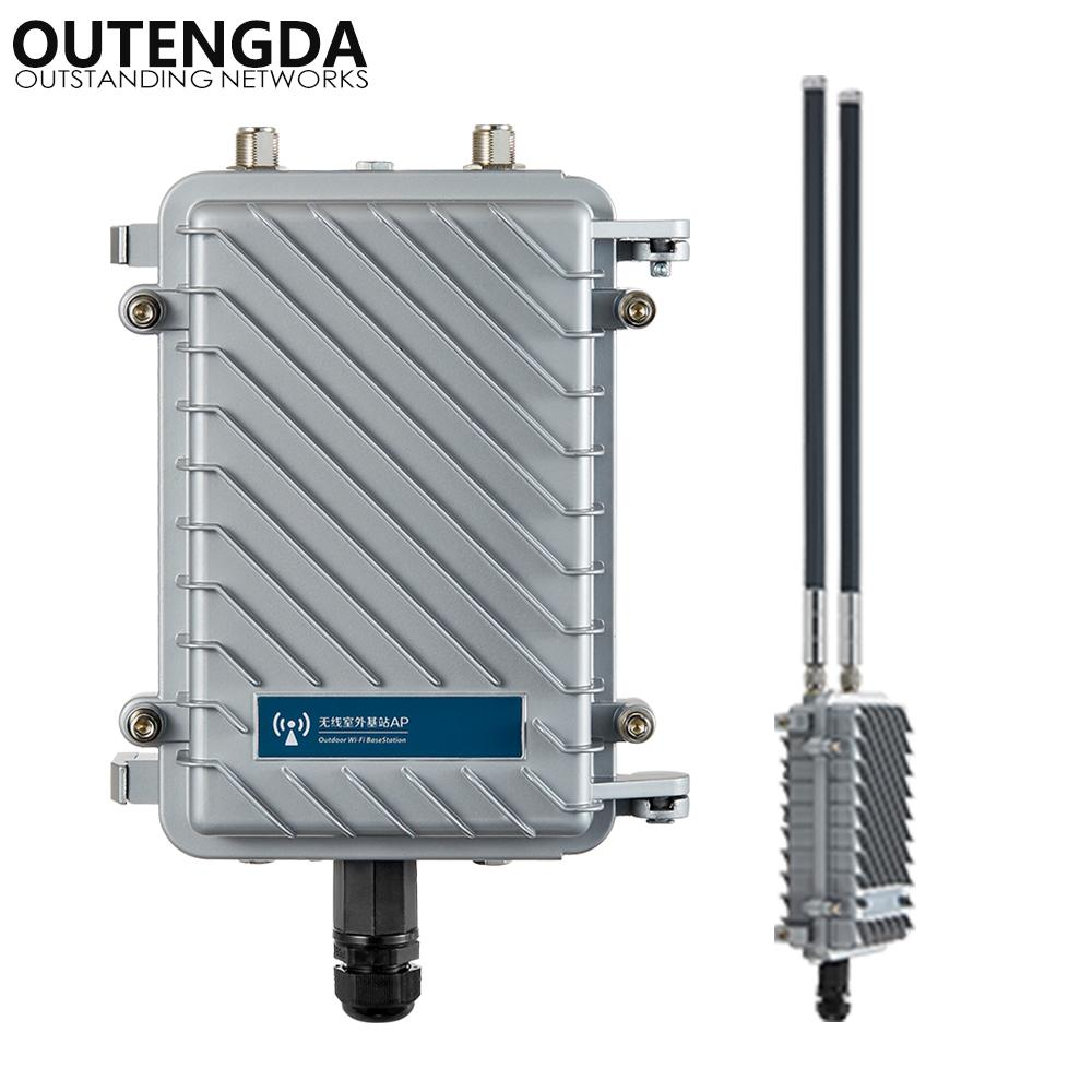 300Mbps 2 4G Long Range Outdoor AP CPE Router WiFi Signal WiFi Hotspot  Wireless Access Point Support PoE