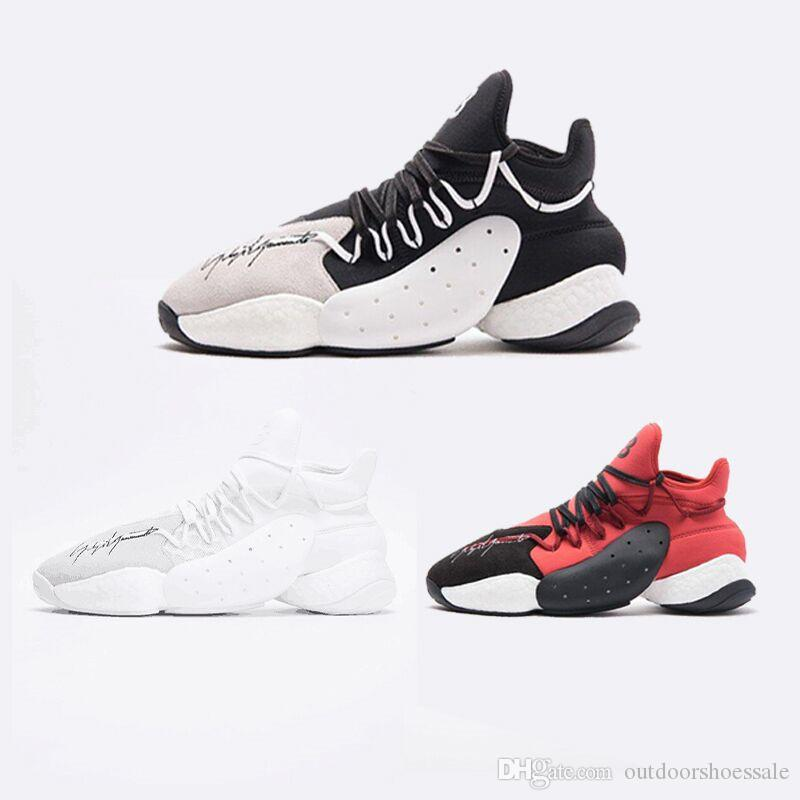 2018 NEW Y 3 BYW Harden BBall High Mens Women Running Shoes Y3 Casual Shoes  Sneaker Y3 QASA Outdoor Sports Shoes Size 38 45 B43875 UK 2019 From ... fee45d1feb