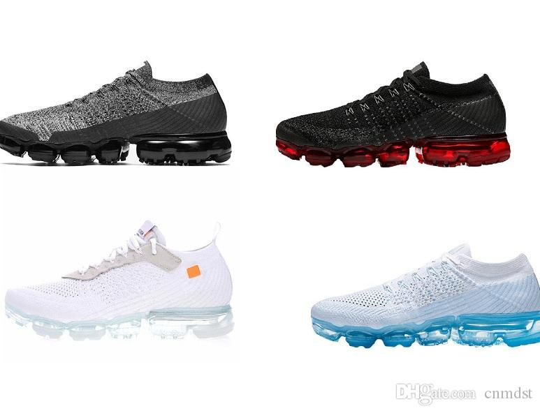 perfect Cheap Rainbow VaporMax Men Women Sport Sneakers Hot Corss Hiking Jogging Walking Outdoor Shoes Hot Sale quality outlet store best wholesale online 7ByE63RU
