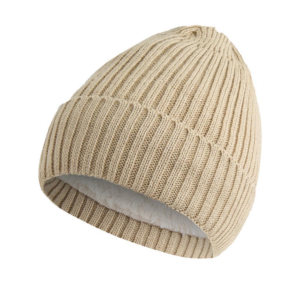 11a0952fd71 2019 Men Women S Hats Caps Baggy Warm Crochet Winter Wool Knit Ski Beanie  Skull Slouchy Caps Hat Winter Hats Women Bonnet Femme  TH From Peachguo