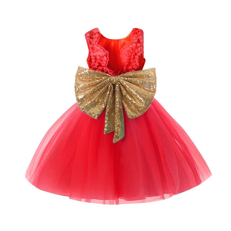 eb7795727a2c4 2019 Summer Baby Girl Baptism Clothes 1 Year Birthday Infant Girls Party  Wear Clothes Newborn Tutu Dresses For Girl 1 2 3 4 5 Years Y18102007 From  Gou07, ...