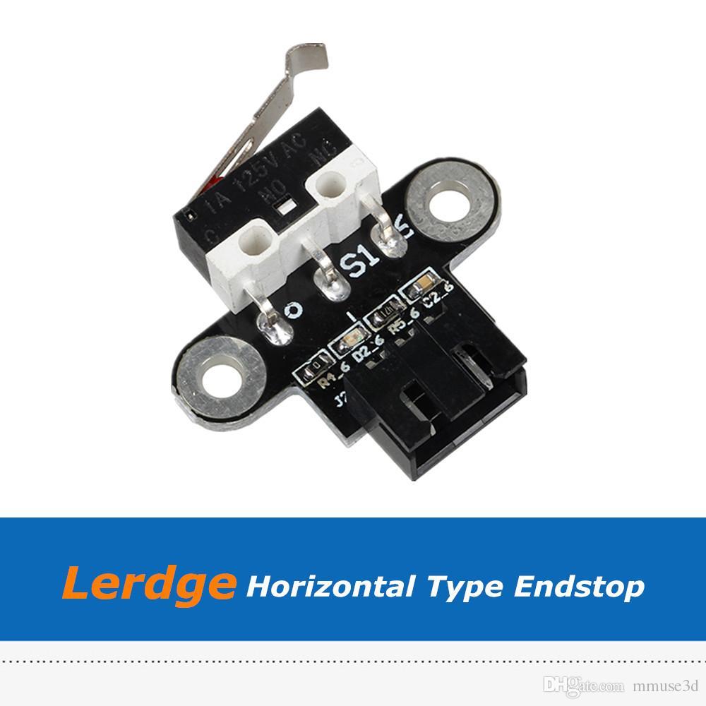 10pcs/Lot 3D Printer Parts Lerdge S X Endstops Horizontal Type Limit Switch  With 1m Cable