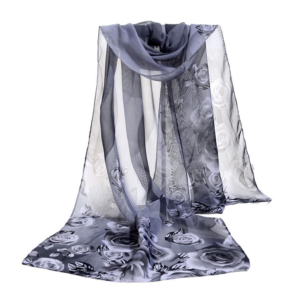 Compre Bufandas De Moda Para Mujer Pañuelo De La Bufanda Del Mantón ...