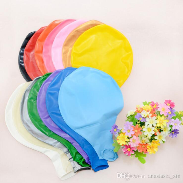 The factory sells 36 inch latex balloon, 25g round wedding, Valentine's day, children's gifts can be repeatedly used.