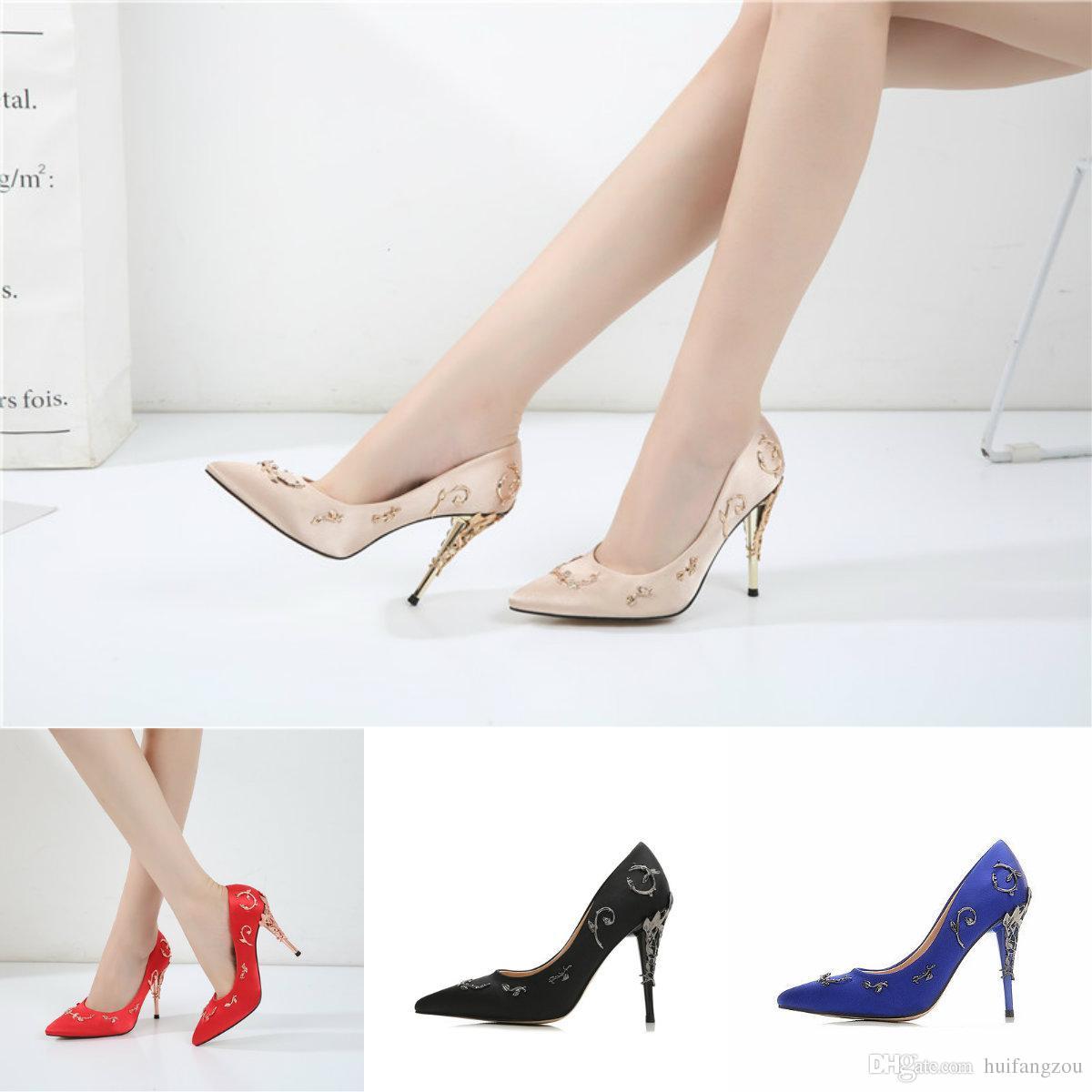 bff0d1cc4 Sandalia Gladiadora Venda Quente Confortável Designer De Casamento Sapatos  De Noiva Sapatos De Salto Alto Para Eventos De Casamento À Noite Festa De  ...