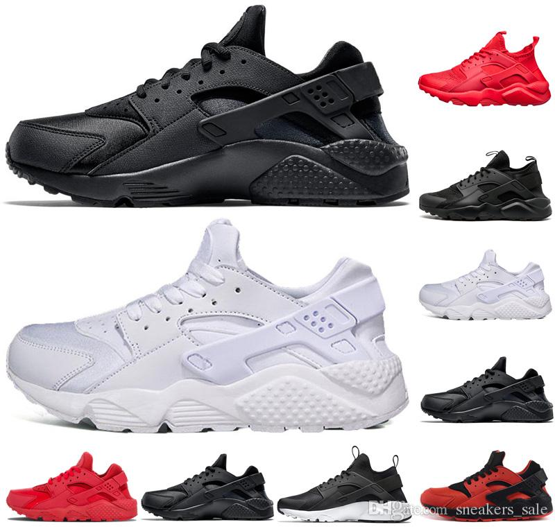 Nike De Shoes Rojo Ultra Deportivas 4 0 Zapatillas Air Mujeres 0 Running Triple Hombres Blanco Negro Hombre Para 1 Huarache I29HEDW