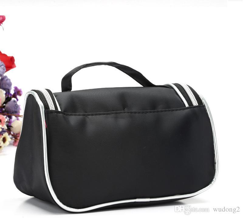 Novo estilo de maquiagem à prova d'água saco de viagem de beleza cosmética do saco organizador Caso Necessaries Make Up Higiene Pessoal Bolsa com Espelho