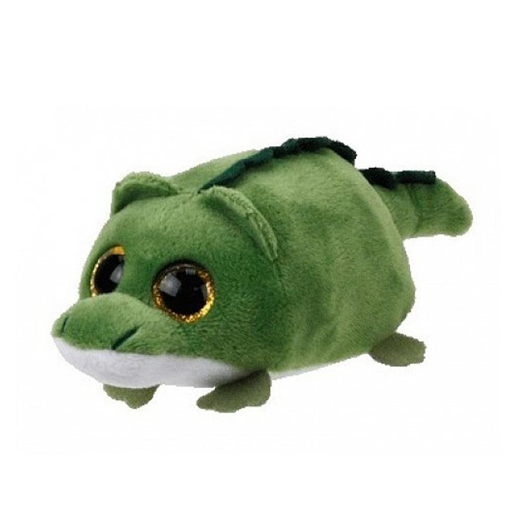 "Ty Teeny Tys 4"" 10cm Wallie the Alligator Reptile Plush Stuffed Animal Collectible Soft Big Eyes Doll Toy"