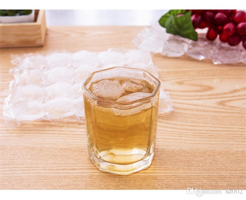 Creative Disposable Ice Cube Bags Frozen Juice Clear Sealed Pack Ices Making Mold Summer DIY Drinking Tray Tool 1 3lb YY