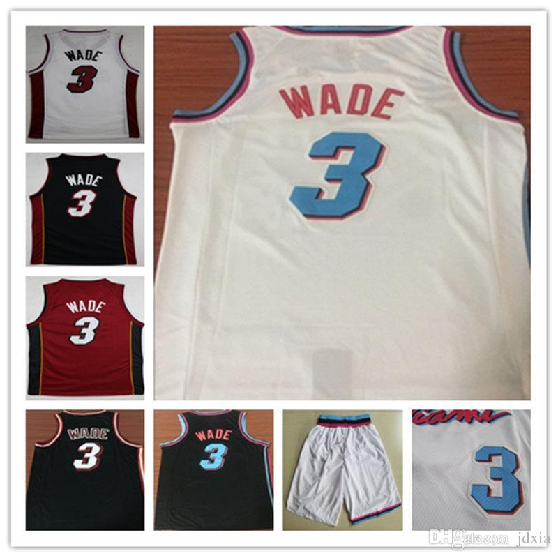 369e1a0de New Men City Shorts 3  Dwyane Wade 21  Hassan Whiteside Jersey 7 ...