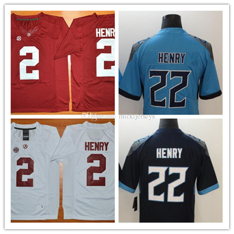 a3c365dbc NCAA  2 Derrick Henry Alabama Crimson Tide College Football Jerseys ...