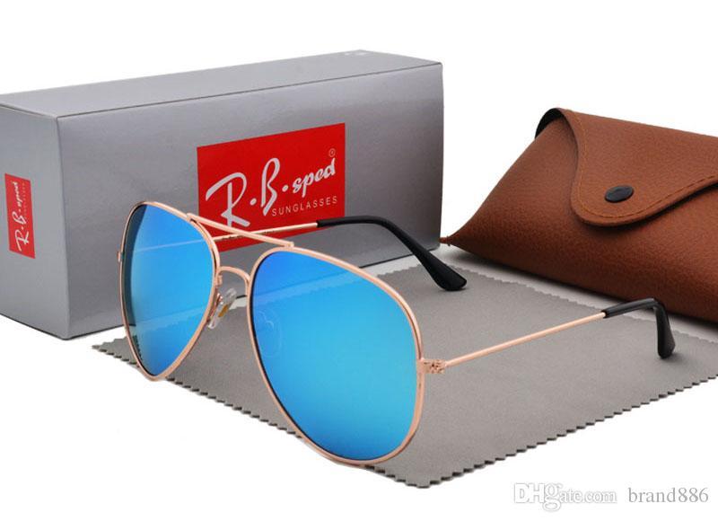 e498590ba0 Brand Design Polarized Sunglasses For Men Women High Quality Pilot Sun  Glasses UV400 Polaroid Lens With Case And Box Polarised Sunglasses Baby  Sunglasses ...
