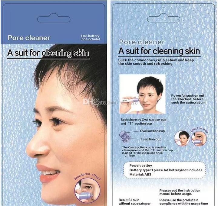 Vendita calda Pulizia della pelle del viso Trucco detergente i pori Pulizia dei capelli neri Zit Acne Remover la cura del viso toosl DHL libero