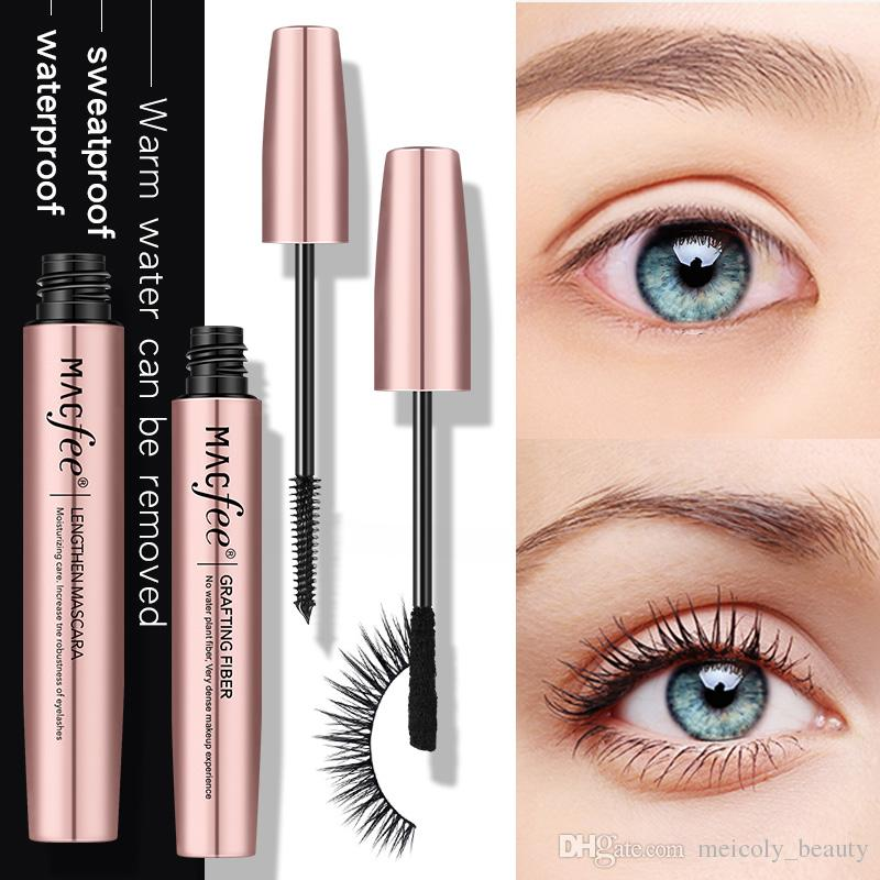 c5c0a754f6e MACFEE 4D Silk Fiber Lash Mascara Magic Black Volume Mascara Makeup Eyelash  Extension Lengthening Discount Makeup Gift Sets From Meicoly_beauty, ...