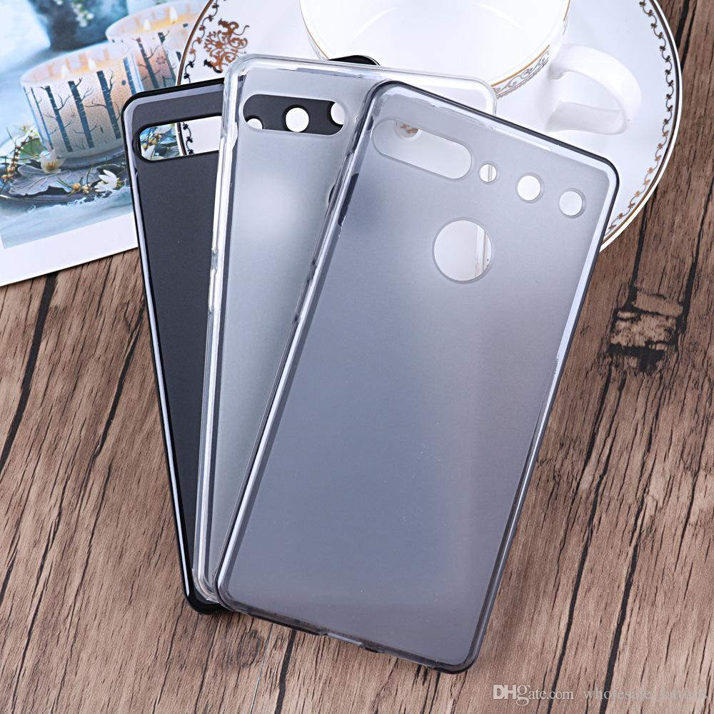For ESSENTIAL Phone PH-1 Alcatel Idol 3 5.5 OT-6045Y Soft TPU Phone Case Cell Phone Protective Pudding Cover