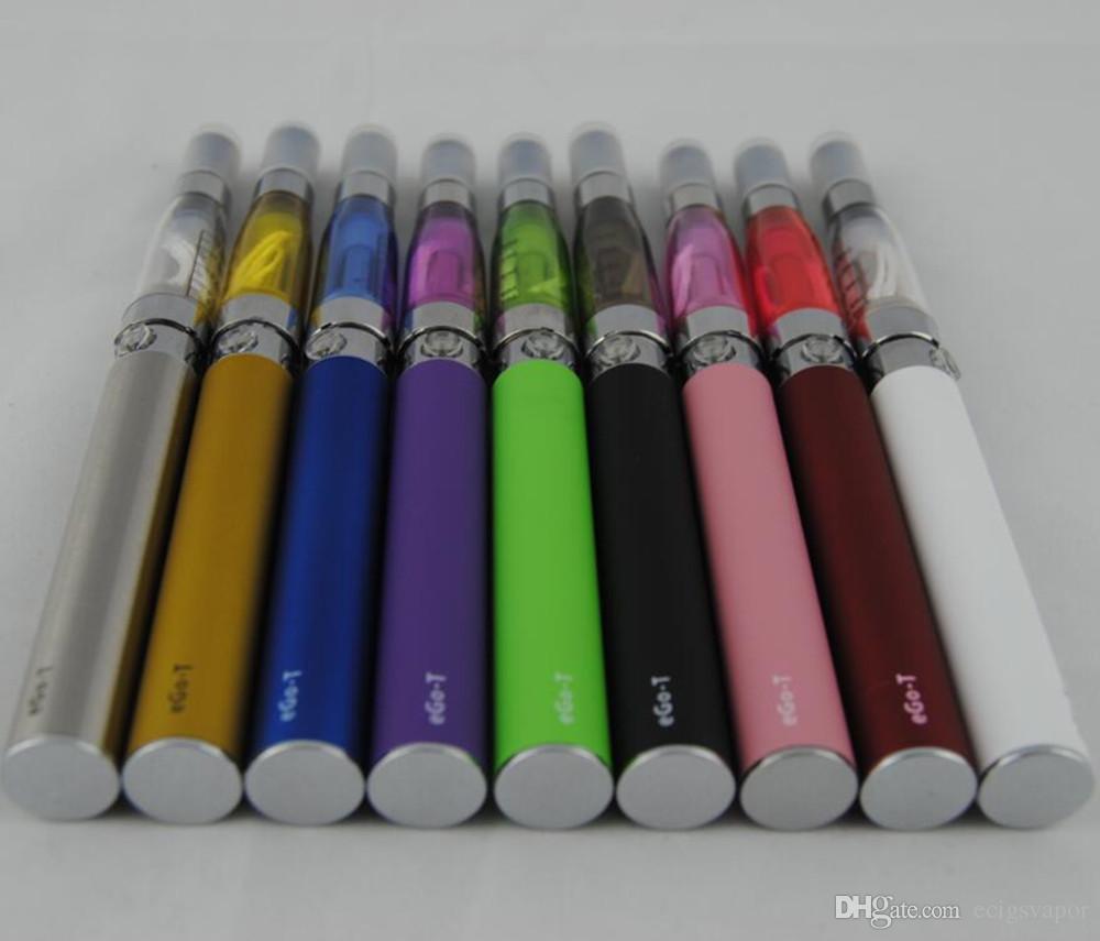 Ecigs eGo CE4 نفطة عدة CE4 المرذاذ البخاخة 650 مللي أمبير 900 مللي أمبير 1100 مللي أمبير الأقلام الملونة الأنا البطارية vape مقابل vs evod mt3 ce5 كاتب أطقم