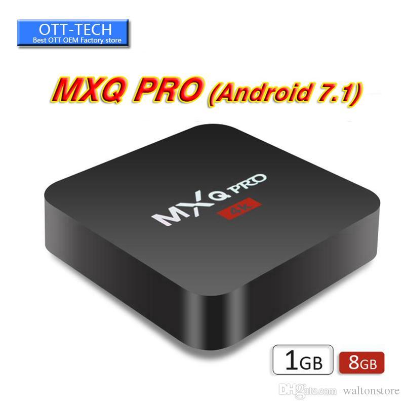 Live Fernsehen Im Internet Mxq Pro 4k Android 71 Tv Box Rockchip