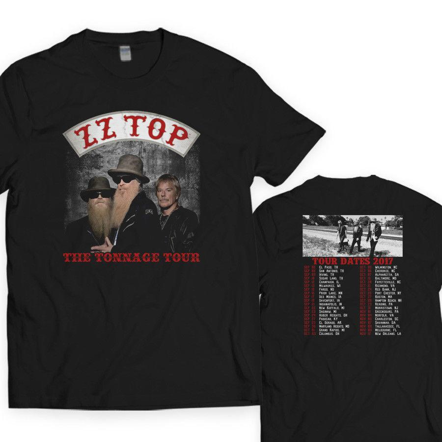 Cool T Shirt Designs Crew Neck Short Sleeve Best Friend Mens Zz Top