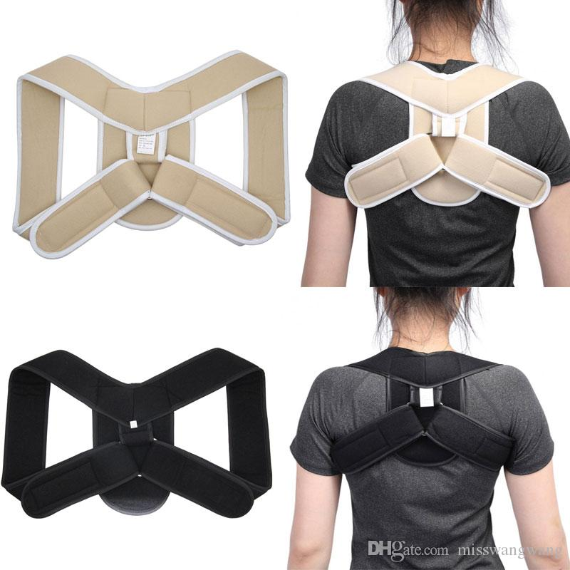 d40912ea73a Back Belt Adjustable Posture Corrector Children Adult Corset Spine Support  Poor Shoulder Posture Correction Brace Orthotics Belt Best Posture Brace  Posture ...