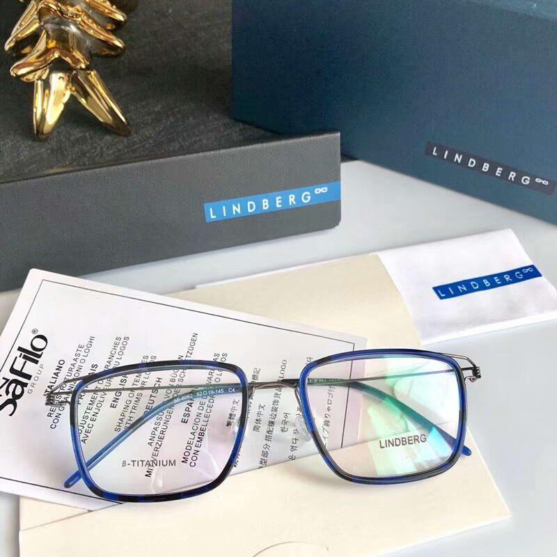 9e48f0ab91c 2019 Lindberg AIR TITANIUM RIM Square Eyeglass Frames Mens Designer Eye  Glasses Eyewear Brand New With Box From Baiyu168