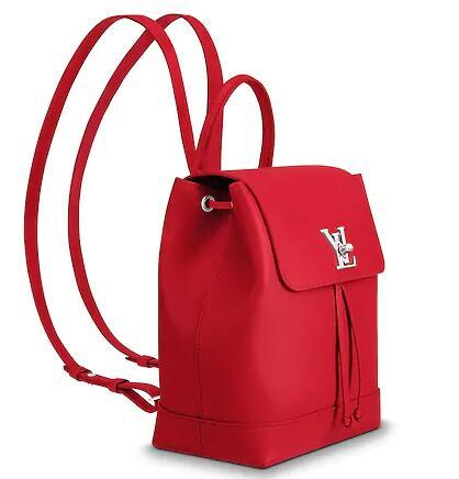M41814 LOCKME BACKPACK Women Red BACKPACKS FASHION SHOWS OXIDIZED LEATHER  BUSINESS BAGS HANDBAGS TOTES MESSENGER BAGS Toddler Backpacks Mens Backpacks  From ... 27587772684e6