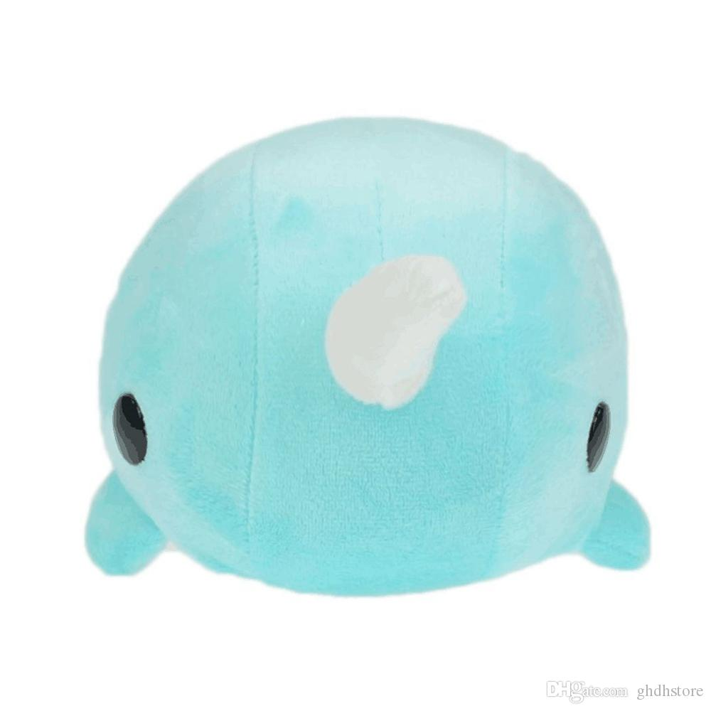 2019 Hot New 10 25cm Narwhal Plush Doll Anime Collectible Stuffed