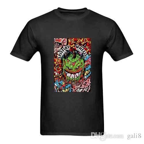 Hombre Tops Camiseta Nueva Fire O Skate Spit Fresco Con Cuello En Superior Spitfire Para TKc1J3lF