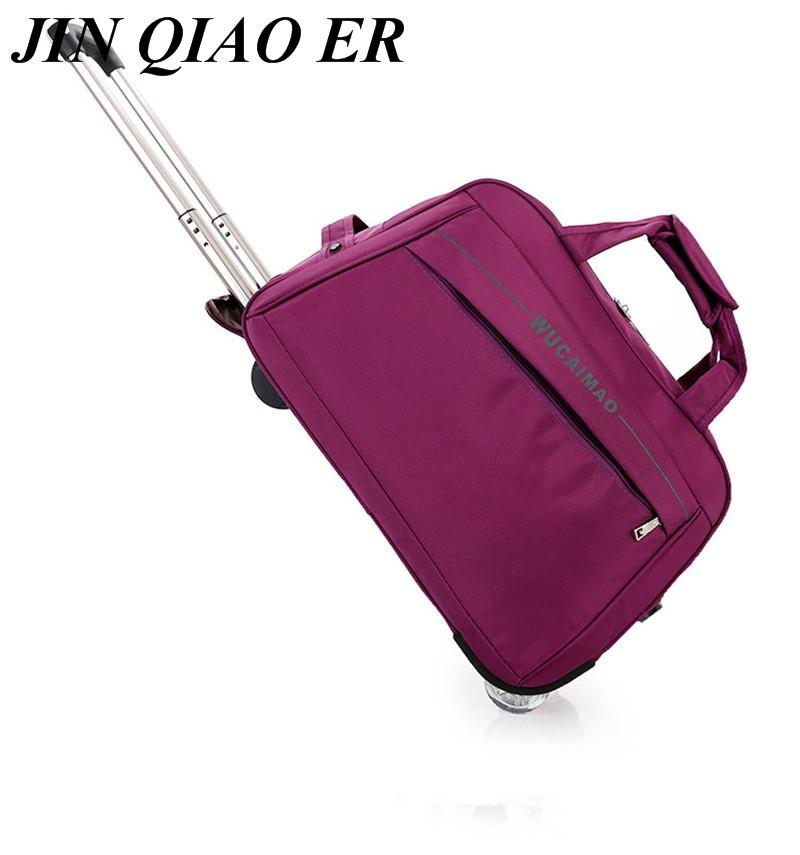 0fb7c94e68 Fashion Travelbag Women Men Travel Bags Trolley Travel Bag With Wheels  Rolling Carry On Luggage Bags Wheeled Bolsas Small Size Shoulder Bags For  Women ...
