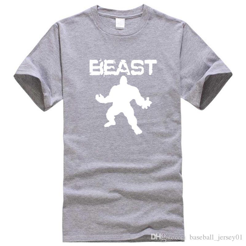 30975a54b 2019 New Brand Clothing Bodybuilding Fitness Men Beast Printed T Shirts  Golds Gorilla Wear Tee Shirts Stringer Tops From Baseball_jersey01, $12.18  | DHgate.