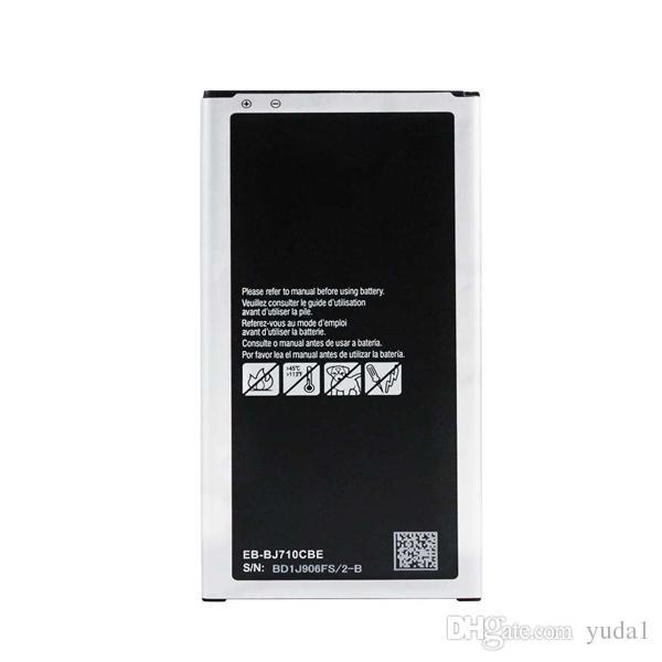 Original OEM Batterie EB-BJ710CBE J7 2016 SM-J710F J710 3300 mAh Kostenloser Versand Großhandel Ein Jahr Garantie