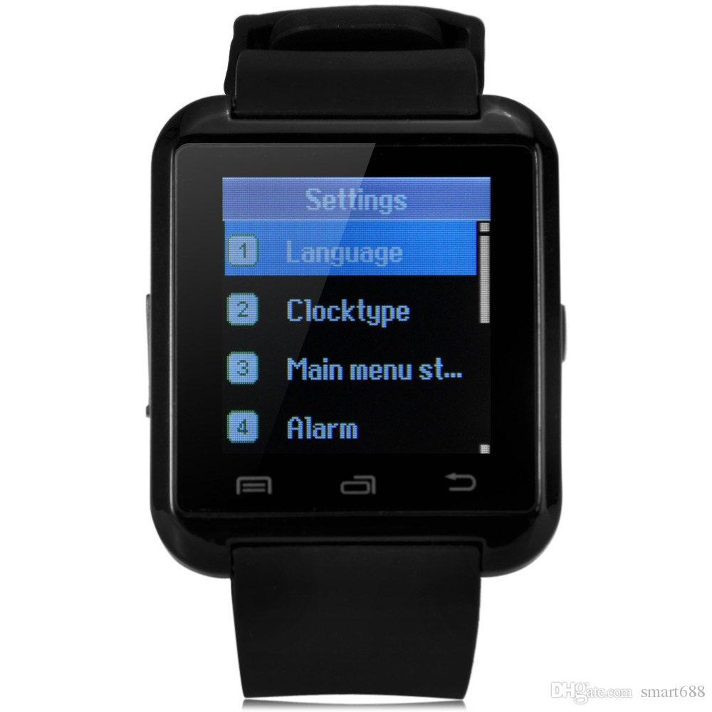 d683ef22fd4 Compre Esporte Bluetooth Smart Watch U8 Relógio De Pulso U8 Smartwatch Para  Iphone 4   4s   5   5s   6 Samsung S4   Nota   S6 Htc Android Relógio Do ...