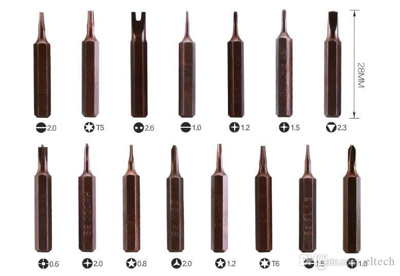 21 в 1 отвертка наборы инструментов многофункциональный прецизионная отвертка компьютер ремонт инструменты ремонт мобильного телефона